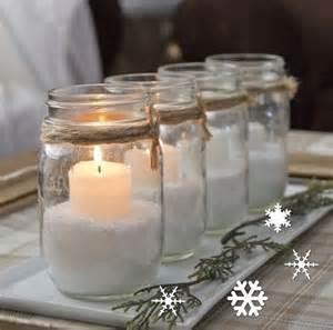 Christmas Floral Centerpiece Ideas - m 225 s de 25 ideas incre 237 bles sobre centro de mesa con tarros en pinterest centros de mesa de
