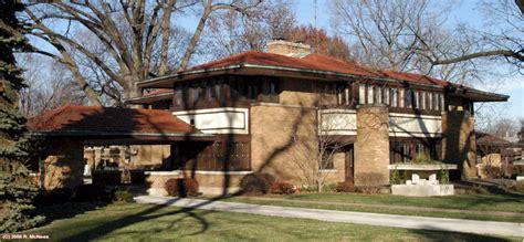 Garage Designer Frank Lloyd Wright Prairie Architecture In Decatur