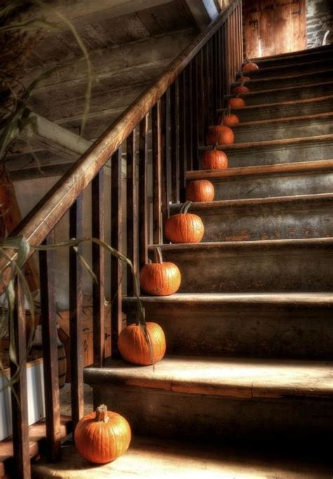 30 cozy fall staircase d 27 genius ways to use the space 35 cozy fall staircase d 233 cor ideas digsdigs