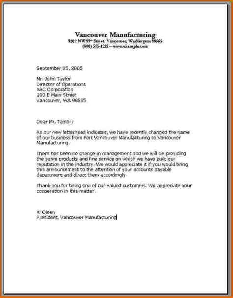 Business Letter Set Up Exle 13 How To Set Up A Letter Format Lease Template