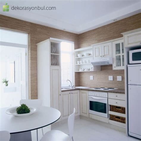 Kitchen Decorating Ideas For Flats Dar Mutfak Dekorasyonu Modelleri Dekorasyon Bul