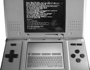 nintendo ds running dslinux bastiaan hack17 run linux on your palm palm and treo hacks tips