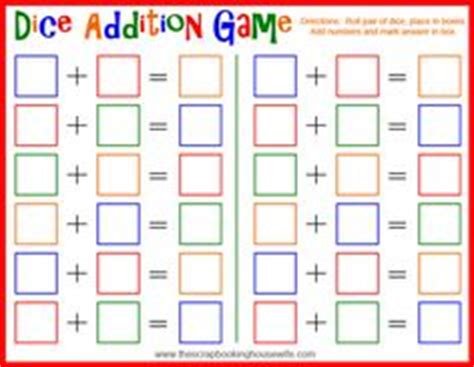dice bingo printable 1000 images about maths games on pinterest printable
