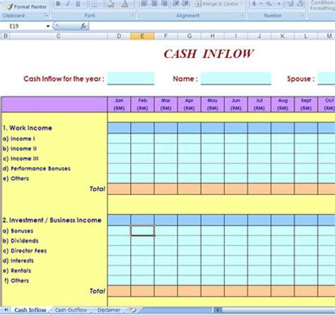 free flow template excel expenses worksheet excel abitlikethis