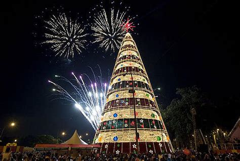 trees of lights in brazil brazil around the world pictures cbs news