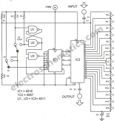 potentiometer circuit diagram digital potentiometer circuit diagram circuit and