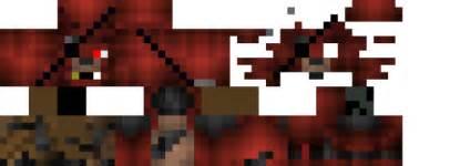 Minecraft Pe Skin Template by Foxy Minecraft Skin Works Despite The Second Layer
