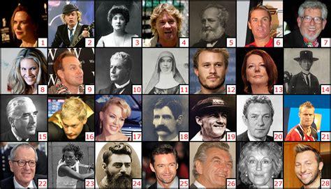 famous people australia australian people famous australian people shown in the