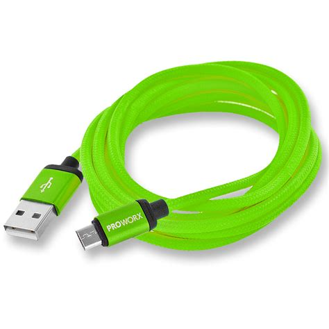 high micro usb charger proworx high speed 6ft micro usb charging charger cable