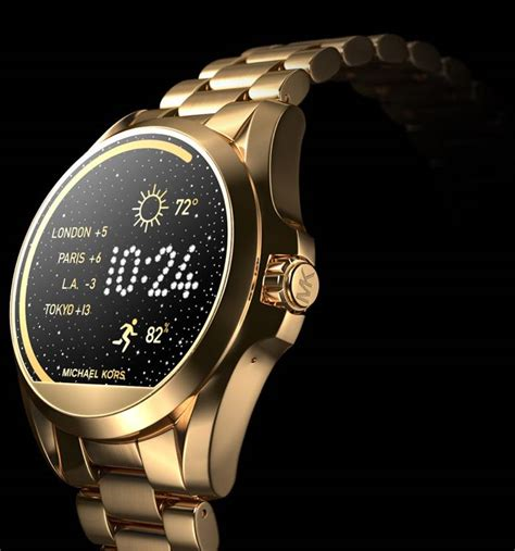Smartwatch Mk michael kors android smart watches are now available geeky gadgets