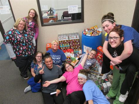 Food Pantry Evansville In by Ross In Evansville Collects Food For Tri State Food Bank