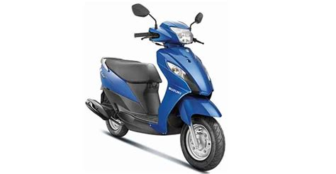 Suzuki Scooters New Launch Bookings Open For Suzuki S New 110cc Scooter Let S