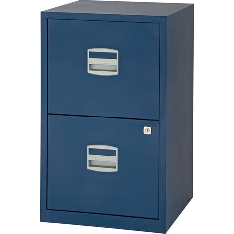 Staples Studio Filing Cabinet 2 Drawer A4 Prussian   Staples®