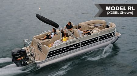 who makes xcursion pontoon boats research 2015 xcursion pontoons 23rl x3 on iboats