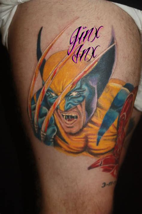 jinx tattoo 10 wolverine designs