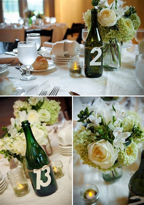 oversized chagne glass centerpieces 7 wine bottle centerpieces you can diy for your wedding day