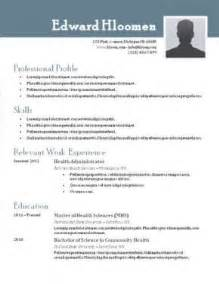 It Professional Resume Templates In Word by Best Free Resume Templates Health Symptoms And Cure