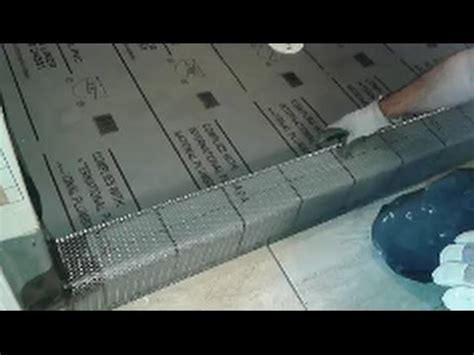 How To Build a Shower Curb   Creating and Installing A