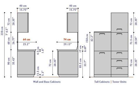 kitchen cabinets dimensions  standard kitchen cabinets