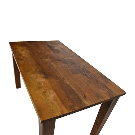 Indian Rosewood Dining Table   Large Rustic Dining Table