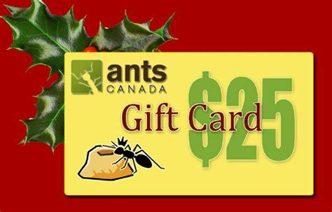 Canada E Gift Cards - christmas sale beginners promo new e gift cards antscanada