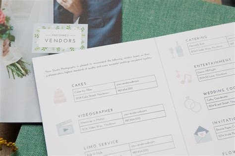marketing templates for professional wedding photographers