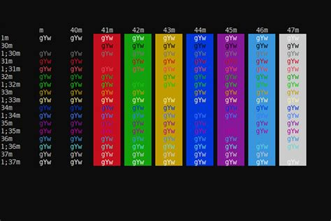 windows color scheme microsoft is updating the windows console colors for the