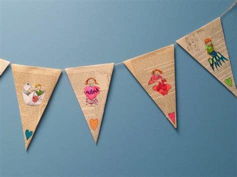 Muttertag Deko Basteln by Karten Und Girlande Zum Muttertag Basteln Handmade Kultur