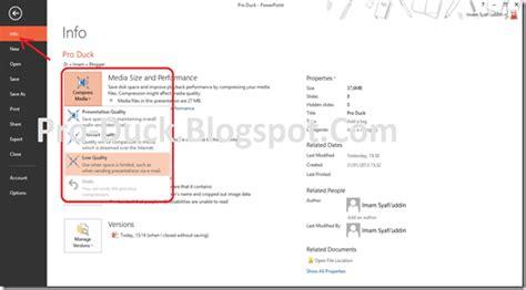 compress pdf lebih kecil memperkecil ukuran file powerpoint dengan compress media
