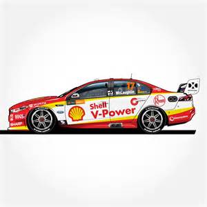 pre order  supercars shell  power racing team