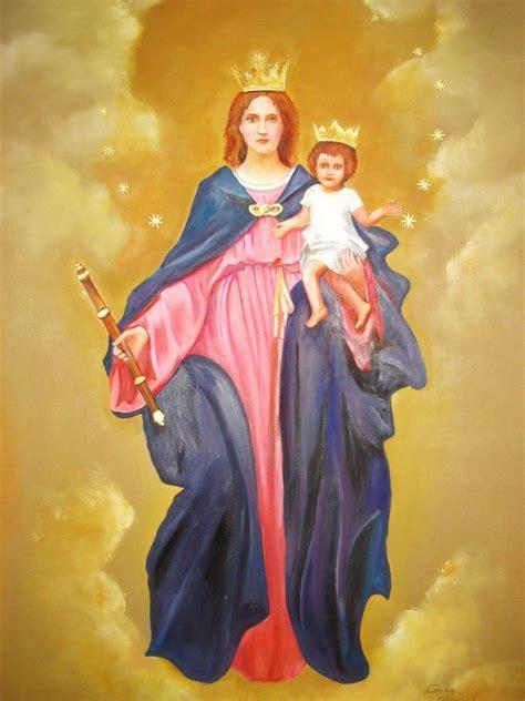 imagenes de la virgen maria ausiliadora virgen maria auxiliadora by damago deviantart com on
