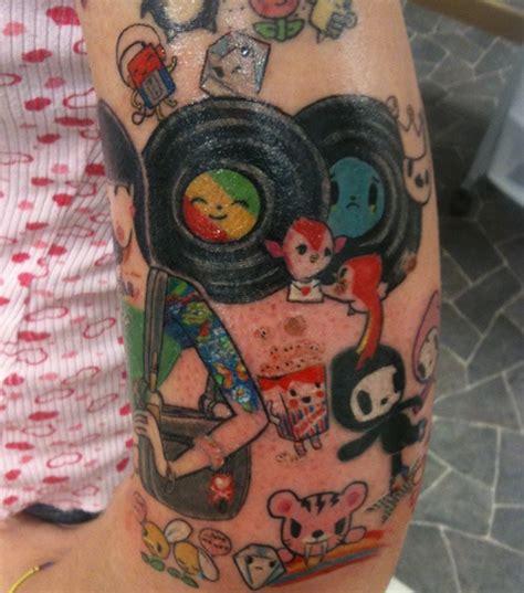 dreamland tattoo toki doki colorful an inked dreamland toki