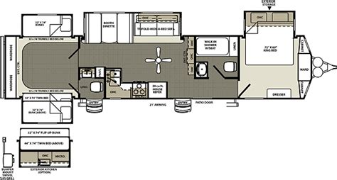 sandpiper rv floor plans sandpiper destination destination trailer by forest river