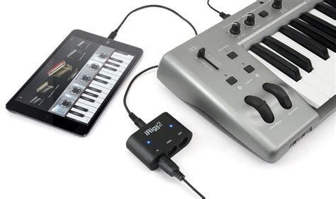 Usb Irig ik multimedia irig midi 2 interface for ios mac and pc