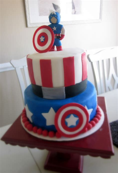 Captain America Cakes ? Decoration Ideas   Little Birthday