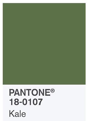 ya tenemos el color del 2017 de pantone el verde 161 ya tenemos la propuesta de colores de pantone para la
