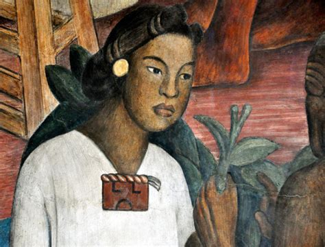 aztec hair styles aztec hairstyle of noble women little details
