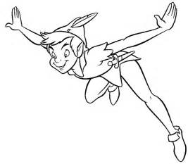 printable peter pan coloring pages coloring