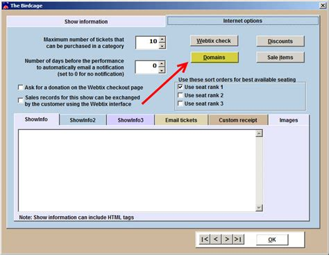setting up a help desk setting up a season package in wintix 6 center stage