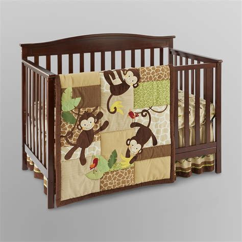 lambs and ivy bedding lambs ivy tickles 3pc crib set shop your way online shopping earn points on