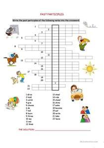 38 free esl past participle worksheets