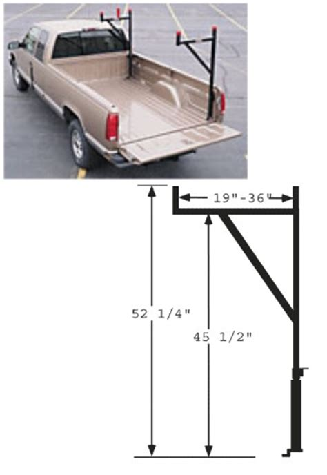 Weekender Ladder Rack by Truck And Transportation Equipment Co Inc Products 1450b Weekender Rack