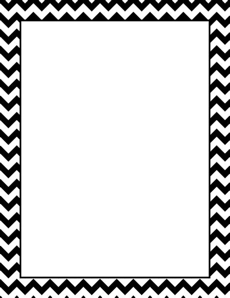 Chevron Page Border Free Downloads At Http Pageborders Chevron Border Template