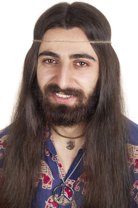 hippie hairstyles for men vibrant and self expressive 1960s hippy clothing