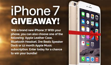 iphone giveaway iphone 7 giveaway