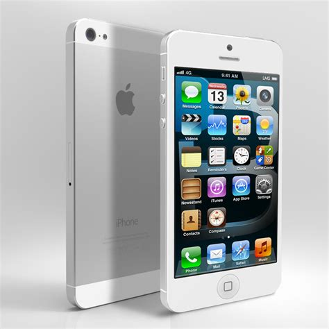 iphone 5 cricket apple iphone 5 32gb 4g lte phone for cricket wireless in white fair condition used cell