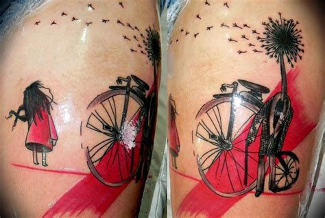 strange life trash polka tattoo best tattoo ideas gallery