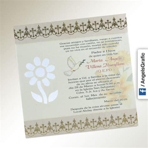 revalidaci 243 n de tarjetas tarjetas para misa de honras invitaci 243 n para misa de