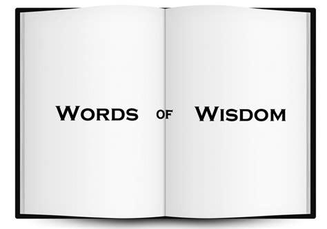 words  wisdom clarity  chaos