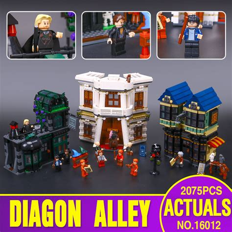 Set Perhiasan Series 005 lepin 16012 limited edition harry potter series the diagon alley set 10217 educational building